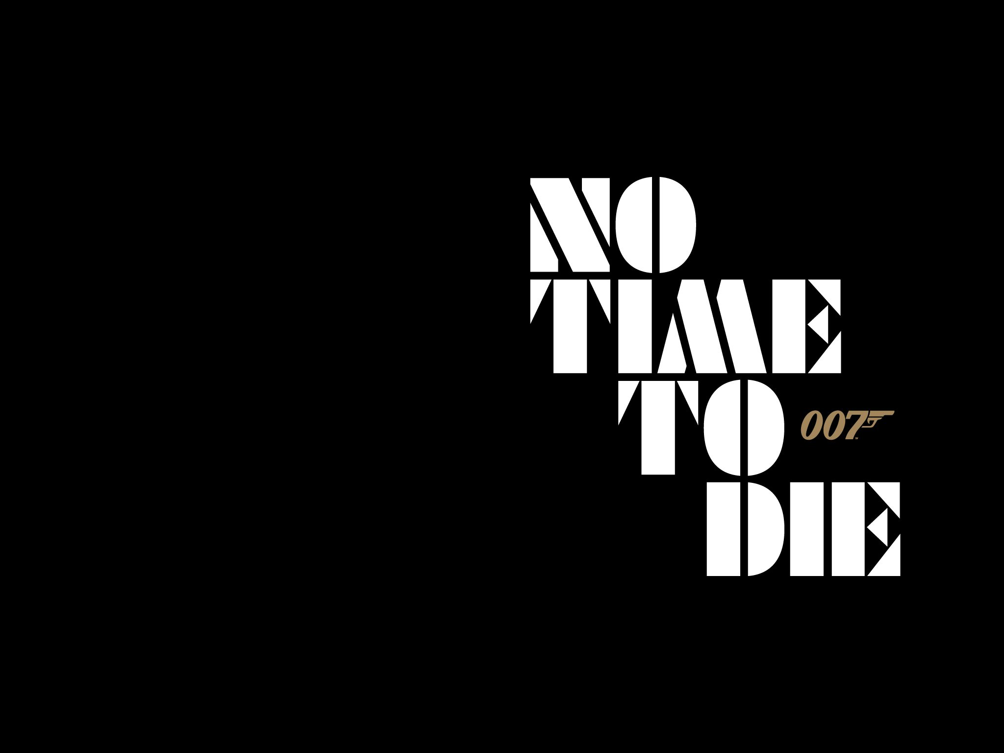 James Bond No Time To Die Card Black